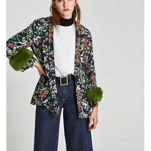 Zara kimono size small mwt